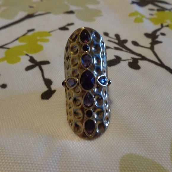 Jewelry - Purple Jeweled Statement Ring